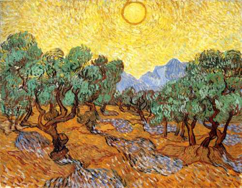 olive-trees-with-yellow-sky-and-sun-1889